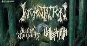 Incantation, Abigail Williams, Vale of Pnath w Polsce